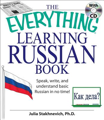 The Everything Learning Russian By Stakhenevich, Julia